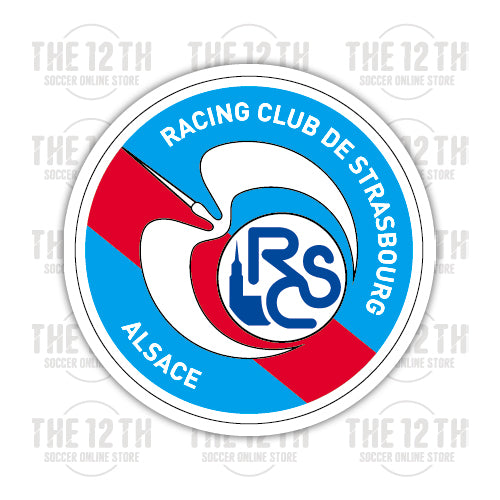 Racing Club de Strasbourg Alsace Removable Vinyl Sticker Decal - 12 Soccer Tee