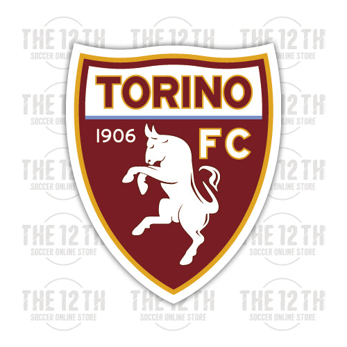 Torino F.C. Removable Vinyl Sticker Decal - 12 Soccer Tee