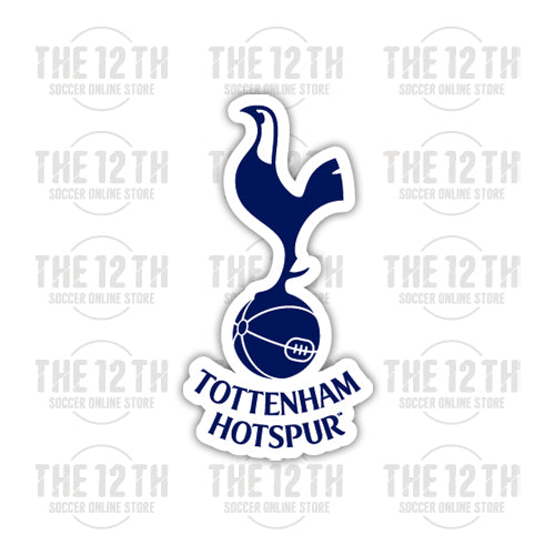 Tottenham Hotspur Removable Vinyl Sticker Decal - 12 Soccer Tee