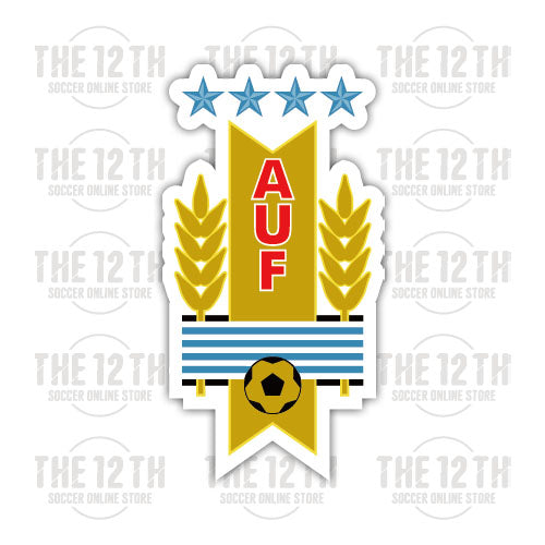 Uruguay Removable Vinyl Sticker Decal