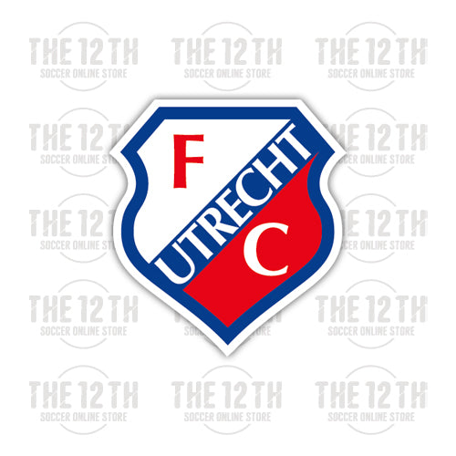 FC Utrecht Removable Vinyl Sticker Decal - 12 Soccer Tee