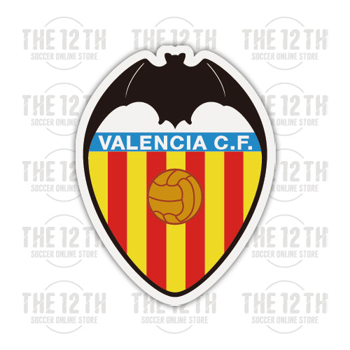 Valencia CF Removable Vinyl Sticker Decal