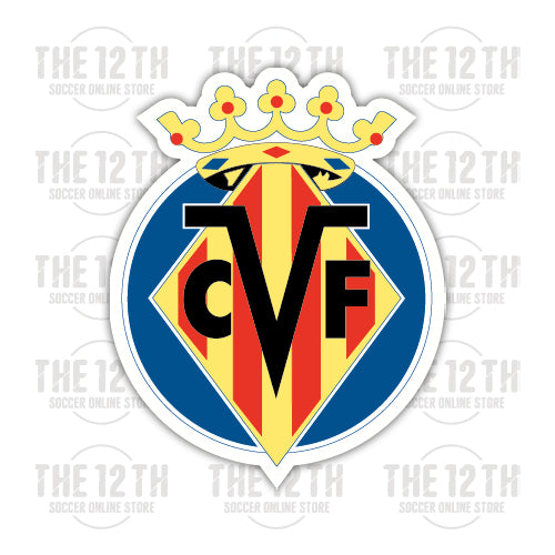 Villarreal CF Removable Vinyl Sticker Decal