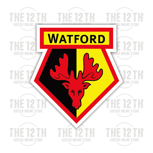 Watford Removable Vinyl Sticker Decal
