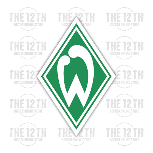 SV Werder Bremen Removable Vinyl Sticker Decal - 12 Soccer Tee