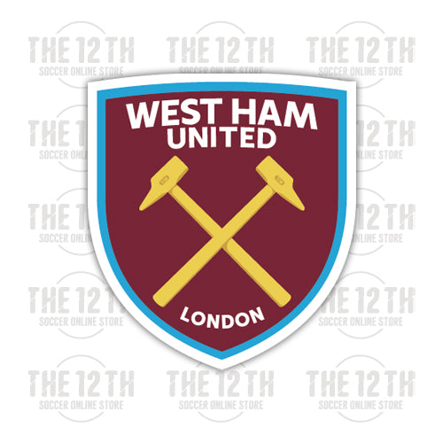 West Ham United Removable Vinyl Sticker Decal