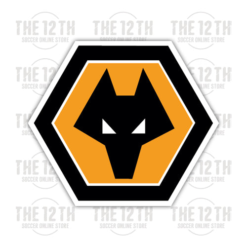 Wolverhampton Wanderers Removable Vinyl Sticker Decal