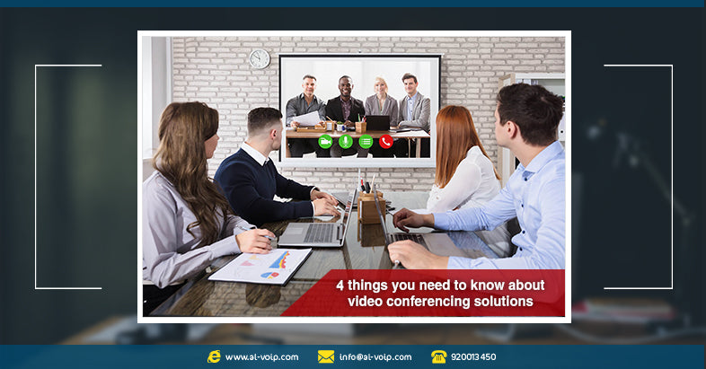 Video conferencing basics: 4 tips you need to know. * مؤتمرات الفيديو: 4 نصائح أساسية يجب ان تعرفها