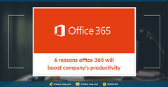 6 reasons office 365 will boost company's productivity * 6 طرق لزيادة الانتاجية باستخدام Office 365