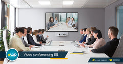 Video conferencing101: complete guide to video conferencing in the business world.*مؤتمرات الفيديو 101: الدليل الكامل لمؤتمرات الفيديو في عالم الأعمال.
