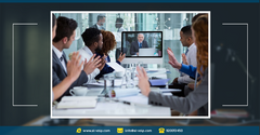 Why video conferencing systems can benefit your business * كيف تتمكن أنظمة مؤتمرات الفيديو من إفادة شركتك؟
