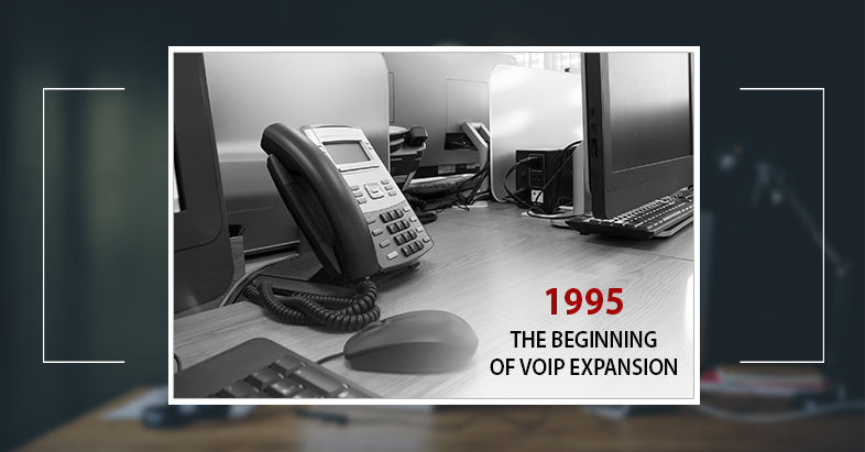 the year 1995 marked the beginning of the broad recognition of the possibility of voice transmission over the Internet