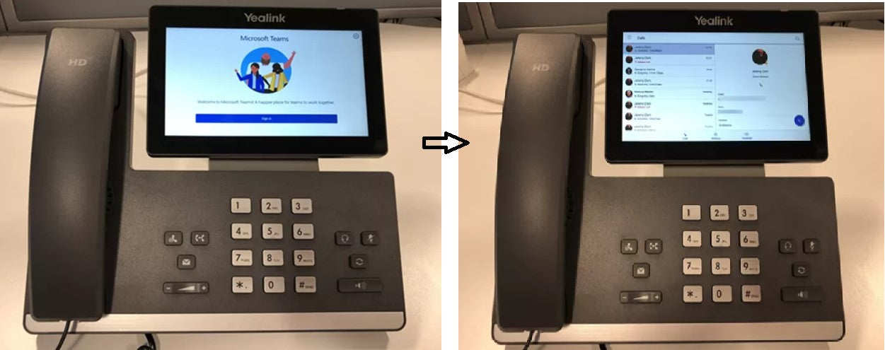 How to Firmware Upgrade a Yealink Phone from Skype for