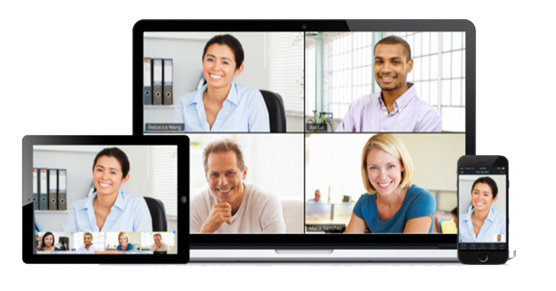 video conference display