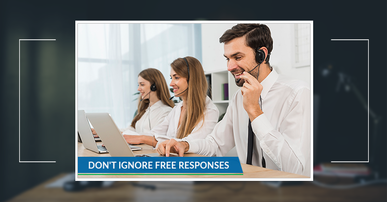 Don't ignore free responses from your customers