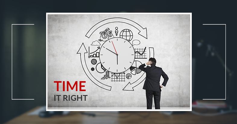 Time it right in customer survives
