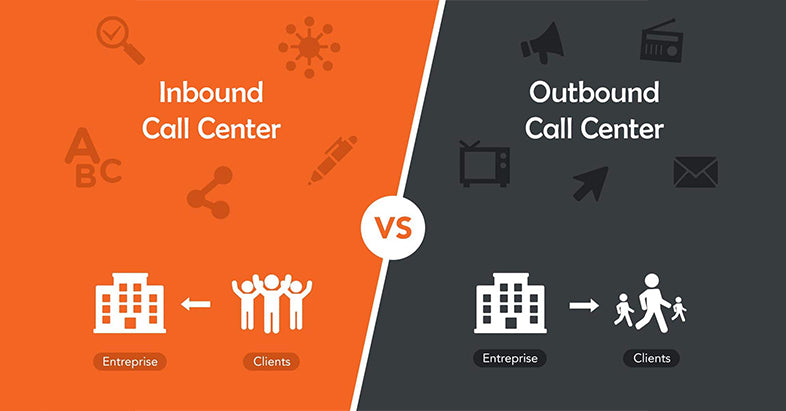 Inbound call center VS Outbound call center