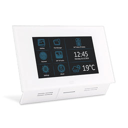 2N Indoor Touch PoE, WiFi - White HELIOS INDOOR TOUCH POE * نظام منزلى داخلى لون ابيض مزود بواى فاى تو ان HELIOS INDOOR TOUCH POE
