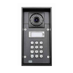 2N Intercom 1 Button & Camera & Keypad & 10W Speaker Helios Ip Force * Helios Ip Force - Intercom & Paging Systems