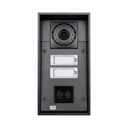 2N Intercom 2 buttons & HD camera (card reader ready) & 10W speaker HELIOS IP FORCE  * نظام انتركم مزود ب 2  زر تحكم وكاميرا  HD وقارئ بصمة كروت تو ان HELIOS IP FORCE
