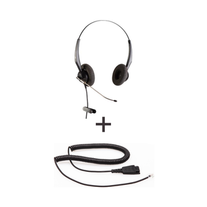 Vt Wired Headset Vt3000St-D * Vt3000St-D - Vt3000St-D + Qd-Rj09(01) Plug For Ip Phones - Headsets
