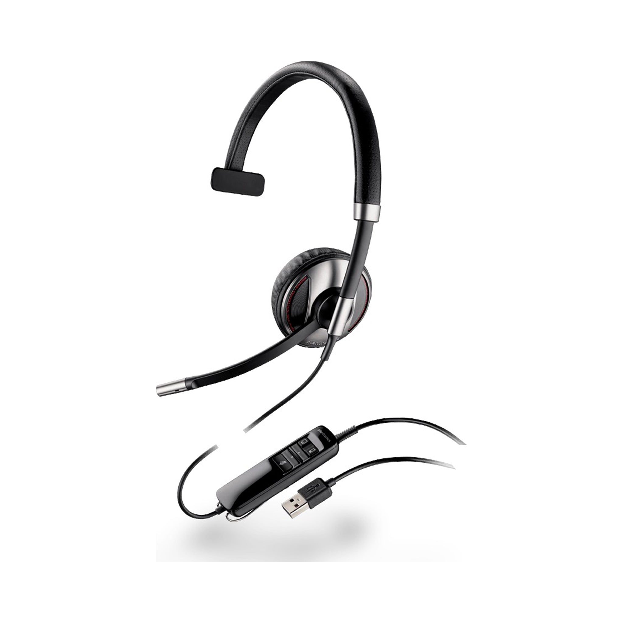 Plantronics Corded Usb Headset Blackwire 710 ( Microsoft ) * Blackwire 710 ( Microsoft ) - Headsets