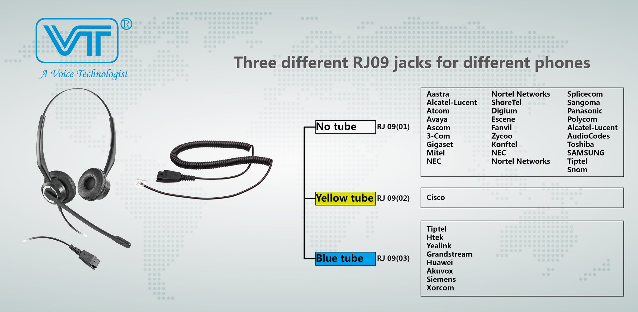 Vt Wired Headset Vt8000unc D Voip Wiring Diagram