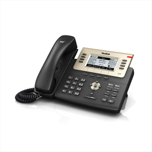 Yealink Executive Ip Phone (With Poe) Sip-T27P * ( Poe ) Sip-T27P - Voip Phones