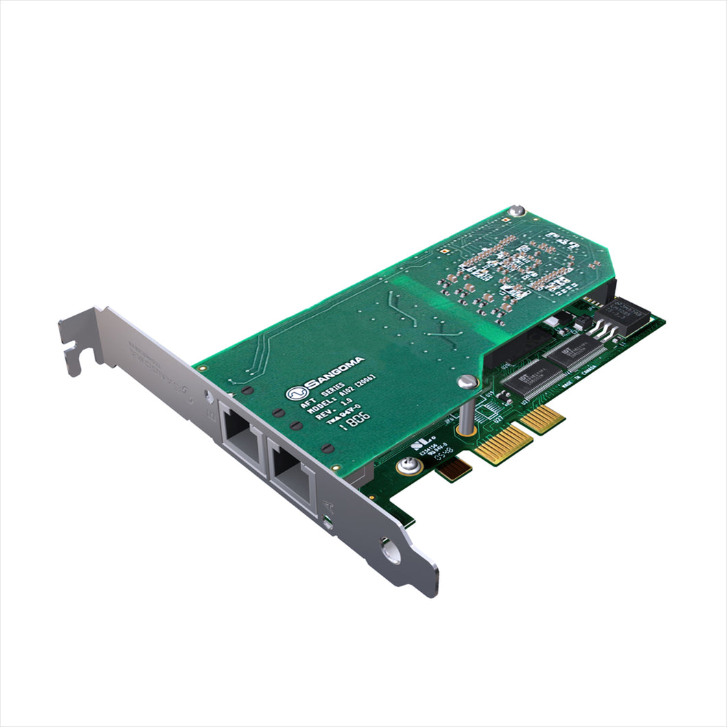 Sangoma Digital Telephony Card A102 * A102 - Telephony Cards