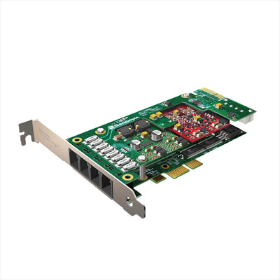 Sangoma Analog Telephony Card A200-Fxs Ports * A200-Fxs Ports - Telephony Cards