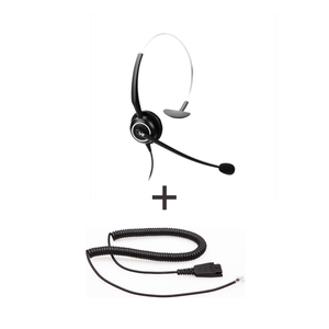 Vt Wired Headset Vt5000Unc * Vt5000Unc - Vt5000Unc + Qd-Rj09(01) Plug For Ip Phones - Headsets