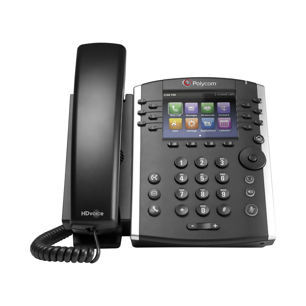 Polycom Ip Desk Phone Vvx 401 * Vvx 401 - Voip Phones