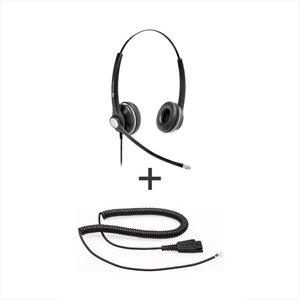 Vt Wired Headset Vt8000Unc-D * Vt8000Unc-D - Vt 8000 Unc-D  Qdgn   + Qd-Rj09(01) Plug For Ip Phones - Headsets