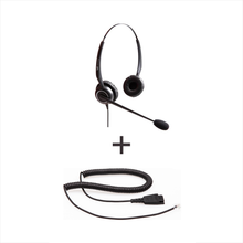 Vt Wired Headset Vt5000Unc-D * Vt5000Unc-D - Vt5000Unc-D + Qd-Rj09(01) Plug For Ip Phones - Headsets