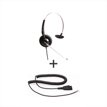 Vt Wired Headset Vt3000St * Vt3000St - Vt3000St + Qd-Rj09(01) Plug For Ip Phones - Headsets