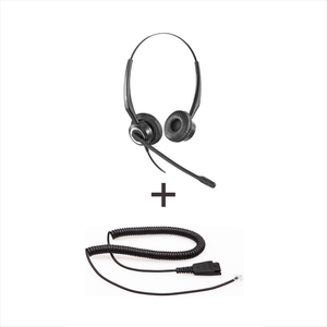 Vt Wired Headset Vt7000Unc-D * Vt7000Unc-D - Vt7000Unc-D + Qd-Rj09(01) Plug For Ip Phones - Headsets