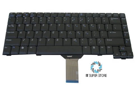 Dell Inspiron 1200 2200 Series Laptop Keyboard Black V-0114DDAS1
