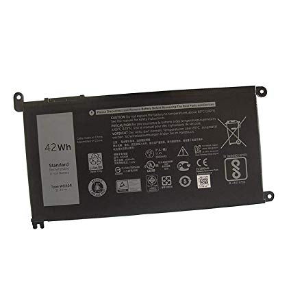 DELL INSPIRON 13 P69G001 Laptop Battery WDX0R