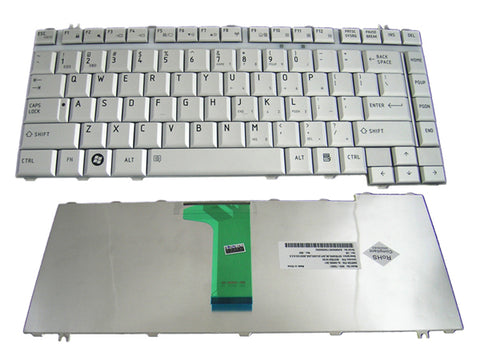 Toshiba  Satellite M200 M205 Pro M200 Laptop Keyboard  Silver V000090470