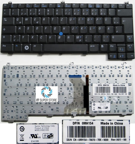 Dell Latitude D420 D430 KH384 laptop Keyboard 0KH384