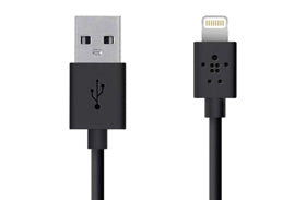 Belkin Lightning Sync & Charge USB Cable 2 Meters F8J023BT2M-BLK
