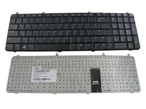 HP Pavilion DV9000 DV9500 DV9600 Series laptop Keyboard Black Color