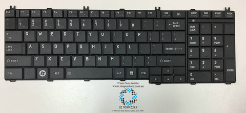 Toshiba SATELLITE PRO L770 PSK3XA-01500H Keyboard Black Matte