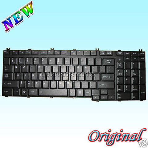 Toshiba Satellite P200 P205 X205 Series Laptop Keyboard Black