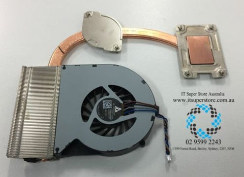 Genuine Toshiba V000350030 Cooling Fan with Heat Sink - Thermal Module CPU