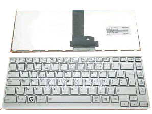 Toshiba Satellite T230 T230D Laptop Keyboard Silver