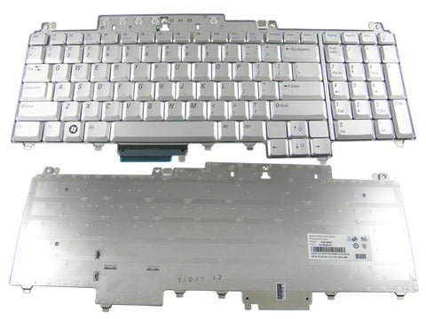 Dell XPS M1720 M1721 M1730  9J.N9182.001 Replacement Laptop Keyboard Silver 0UW739
