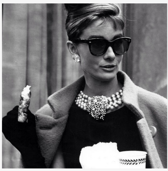 Audrey Hepburn with Sunglasses