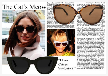 Sojos Vision Cat Eye Sunglasses