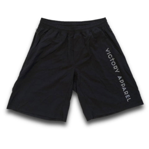 Men's Lightweight Training Shorts (Black) | Victory Apparel, Inc.